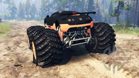 Bugatti Veyron SS [monster truck] para Spin Tires