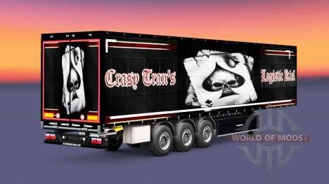 Pele Crasy Trans Logística de Kiel para reboques para Euro Truck Simulator 2