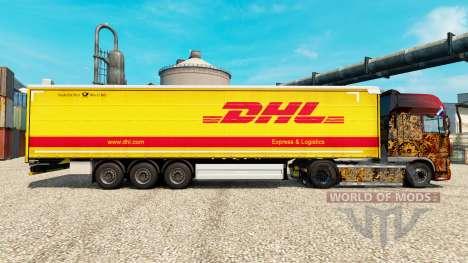 Pele DHL para v2 semi para Euro Truck Simulator 2