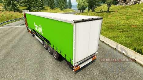 Pele Bruil na semi para Euro Truck Simulator 2