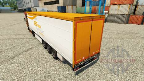 Pele Eurocement grupo na semi para Euro Truck Simulator 2