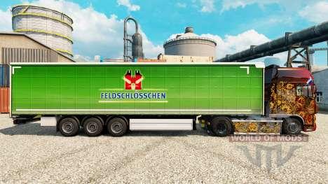 A pele da caixa, bloqueio de Chen para o trailer para Euro Truck Simulator 2