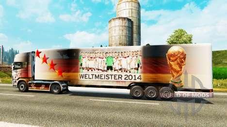 Semi-reboque-o frigorífico da Copa do Mundo de 2 para Euro Truck Simulator 2