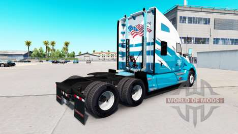 Phils de Transporte de pele para Kenworth T680 t para American Truck Simulator