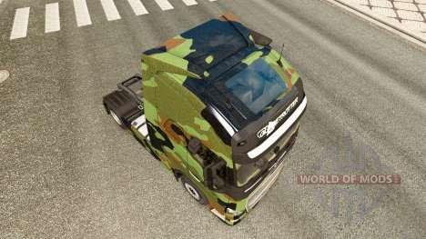 Camo pele para a Volvo caminhões para Euro Truck Simulator 2