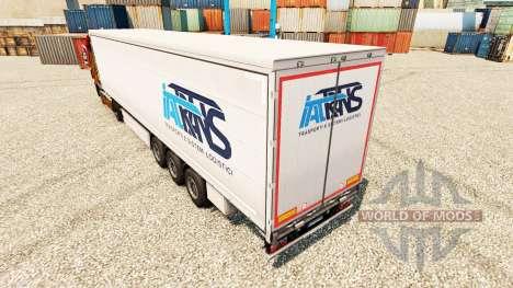 Pele Trans IAT reboques para Euro Truck Simulator 2