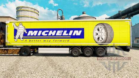 Pele Michelin Latitude na semi para Euro Truck Simulator 2
