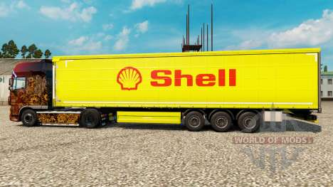 Pele Shell para semi-reboques para Euro Truck Simulator 2