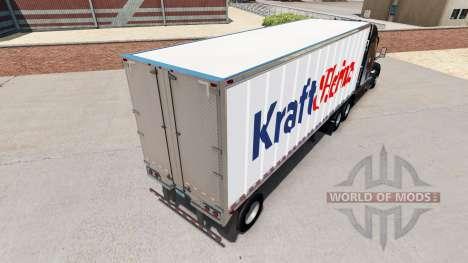 Pele Kraft Heinz em um pequeno trailer para American Truck Simulator