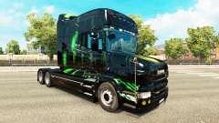 Monster Energy pele para a Scania T unidade de t