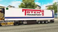 Semi-reboque frigorífico Chereau Toten Transport