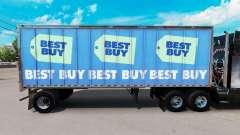 A pele Melhor Comprar no pequeno trailer