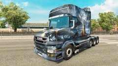 Dragão v2 pele para caminhão Scania T