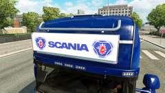 Publicidade caixa de luz para a Scania