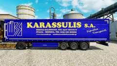 Pele Karassulis S. A. e semi-reboques