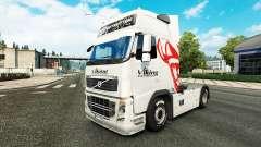 Viking Express pele para a Volvo caminhões