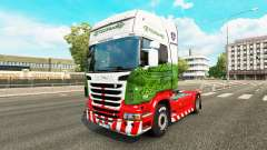 Pele ETS2Studio no trator Scania