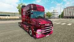 Weltall pele para caminhão Scania T