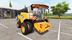 New Holland CR10.90 twin wheels
