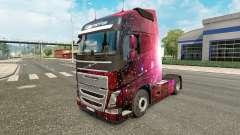 Weltall pele para a Volvo caminhões