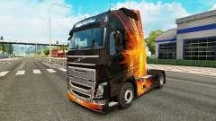 Cúbica Flare pele para a Volvo caminhões