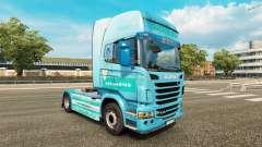 Siemens pele para o Scania truck