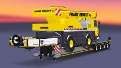 Baixa varrer caminhão guindaste Liebherr LTM 103