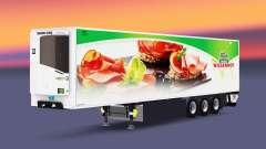 Caminhão de cargas reefer PT Wiesenhof