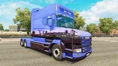 Euro Trans pele para a Scania T caminhão