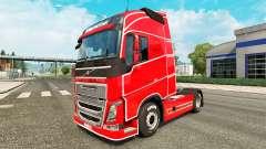 De pele simples para a Volvo caminhões