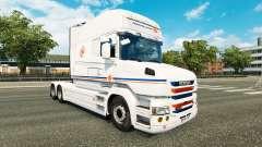 Transalliance pele para a Scania T caminhão