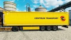 Pele Centrum Transporte de semi-reboques