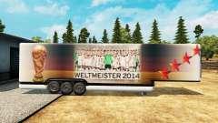 Semi-reboque-o frigorífico da Copa do Mundo de 2
