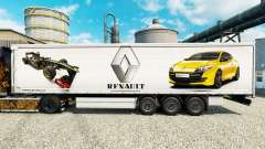 Pele Renault F1 Team para a semi