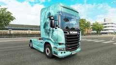 Crânio pele para caminhão Scania