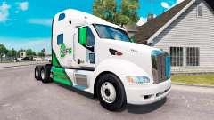 Pele DFS caminhão trator Peterbilt 387