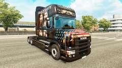 A pele do Pato Dinastia para caminhão Scania T