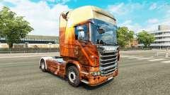 Espírito livre pele para o Scania truck