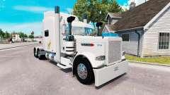 Swift pele para o caminhão Peterbilt 389