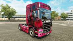 Pele Weltall no tractor Scania