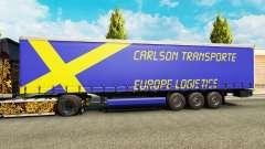 Carlson Transporte de pele para reboques