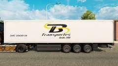 TB Transportes pele para reboques