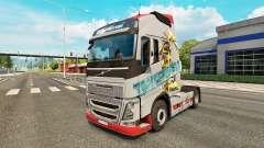 Transformadores de pele para a Volvo caminhões