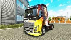 Pele Momentos Mágicos na Volvo caminhões