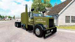 WW2 a pele Limpa para o caminhão Peterbilt 389