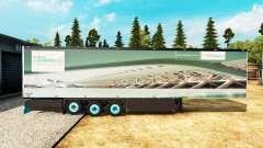Semi-reboque frigorífico Schmitz Siemens