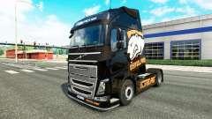 Pele Virtus.pro para a Volvo caminhões