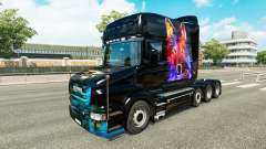 Pele de lobo v2 para a Scania T caminhão