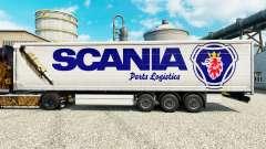 Pele Scania Logística de Peças para reboques