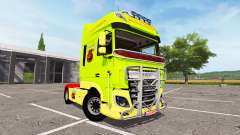 DAF XF Super Space Cab tuning